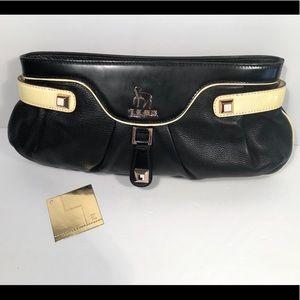 L.A.M.B. Leather & Rosegold Clutch🌹